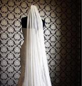 New With Tags/ Unaltered Off White Veil