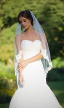 New With Tags/ Unaltered Ivory Veil 3