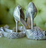 Used Champagne Shoes