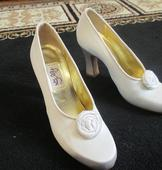New With Tags/ Unaltered Ivory Shoes