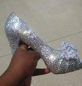 New With Tags/ Unaltered Diamond White Shoes