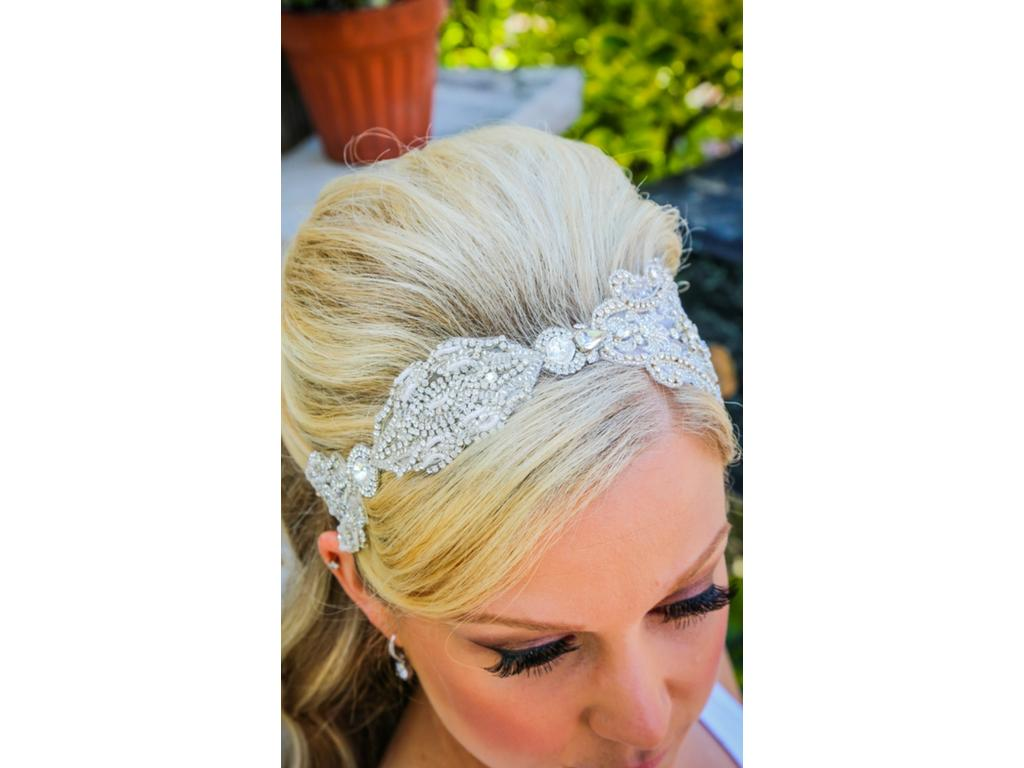 used bridal styles boutique in brooklyn tiara/hair accessory, $270