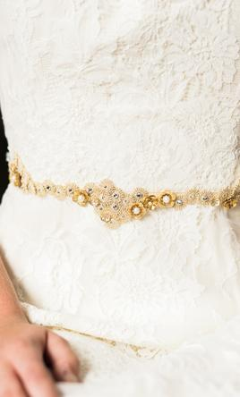 Shades of Gold Sash/Belt