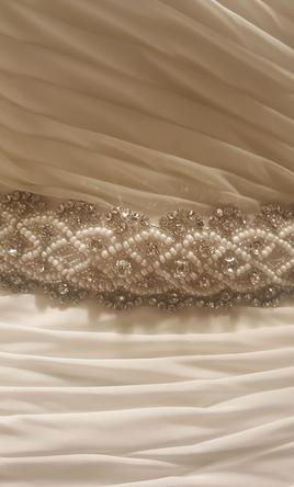Shades of Silver Sash/Belt