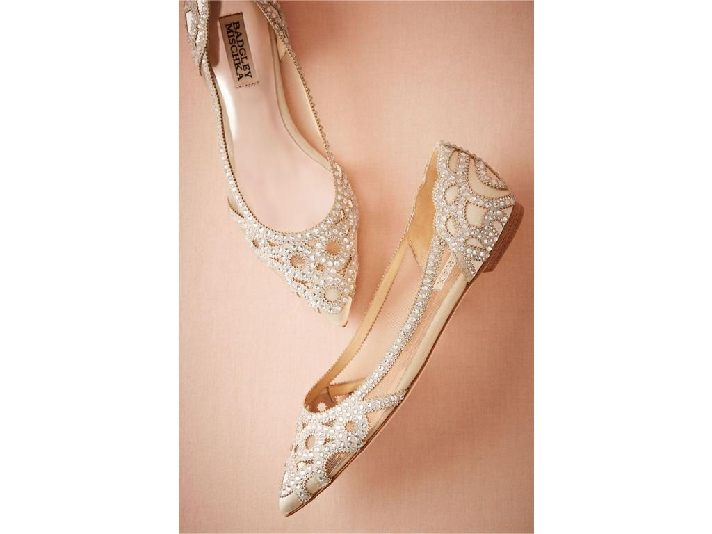 Used Badgley Mischka Shoes 95 Bridal Accessories