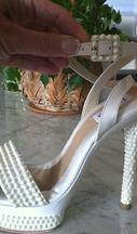 Used Cream Shoes 0