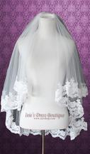 New With Tags/ Unaltered Ivory Veil 2