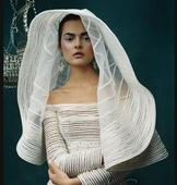 New With Tags/ Unaltered Ivory Veil