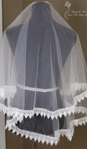 New With Tags/ Unaltered White Veil 8