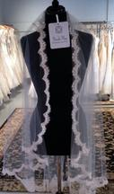 New With Tags/ Unaltered Ivory Veil 1