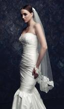 New With Tags/ Unaltered Ivory Veil 4