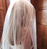 New With Tags/ Unaltered White Veil