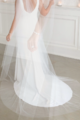 New (Un-Altered) Ivory Veil