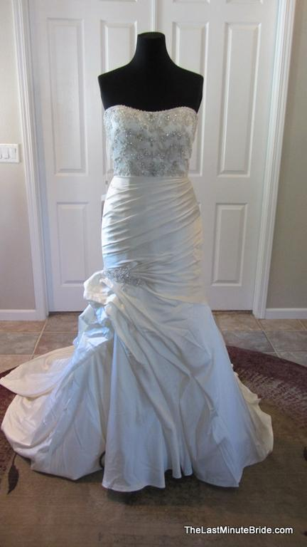 casablanca 2104 wedding dress currently for sale at 69 off retail