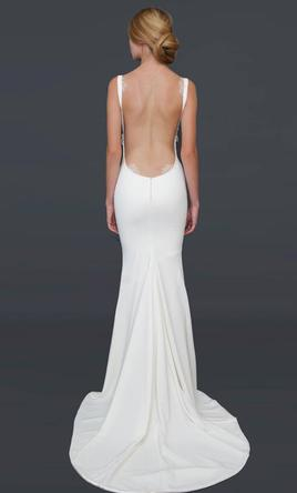 Katie May Barcelona Low Back Gown 4