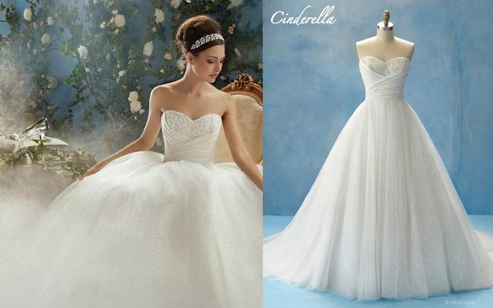 Alfred Angelo Disney Cinderella Wedding Dress | Wedding Gallery
