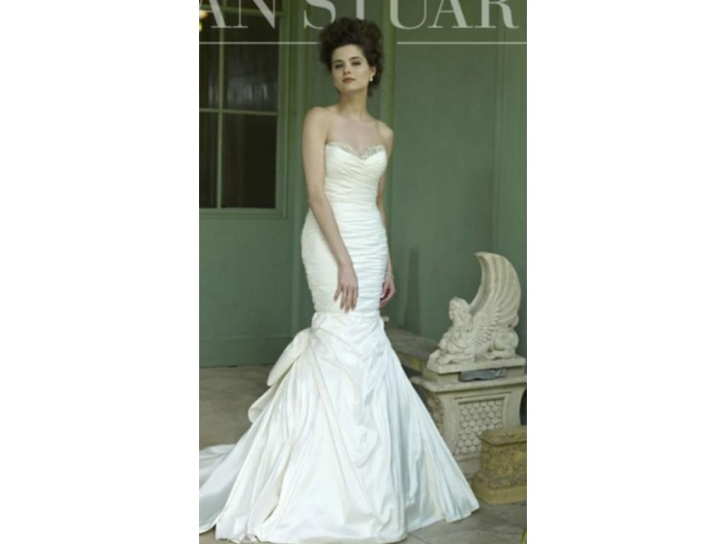 Ian stuart miami 1 000 size 10 used wedding dresses for Used wedding dresses kansas city