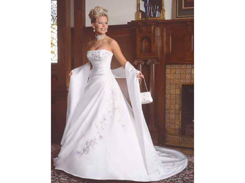 Maggie sottero sarchi 300 size 4 new un altered for Who sells maggie sottero wedding dresses