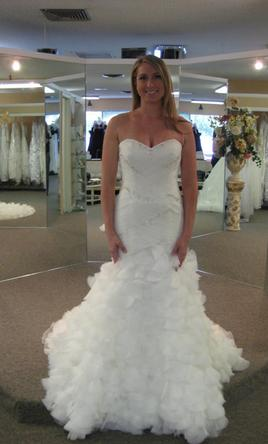 Mori Lee 1619, $720 Size: 8 | New (Un-Altered) Wedding Dresses