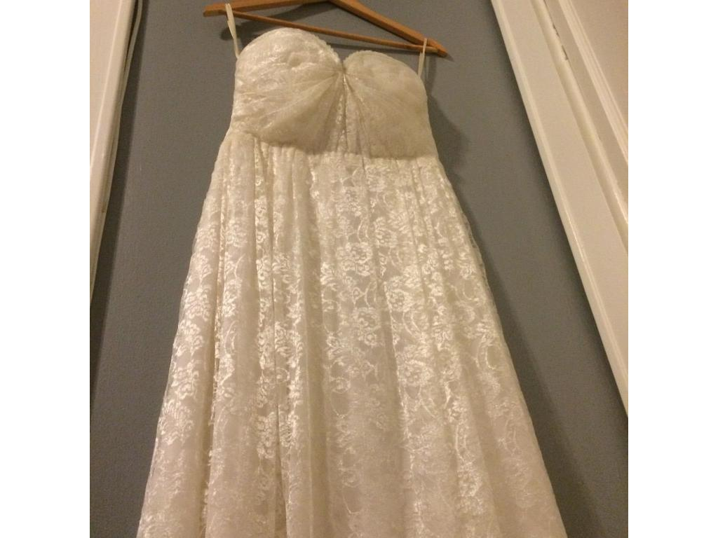 Completely new Sarah Seven Cherry Blossom, $635 Size: 10 | Used Wedding Dresses RU88