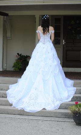 Allure wedding dresses used for sale