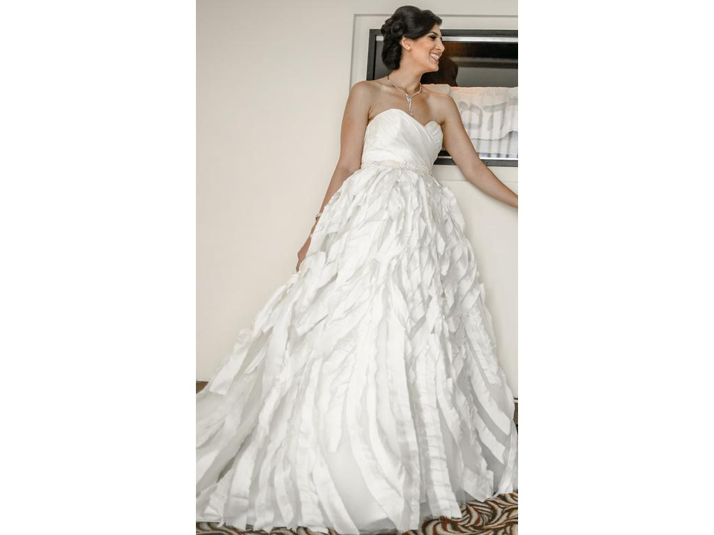 Jim Hjelm Spring 2013 Ball Gown $2 000 Size 8