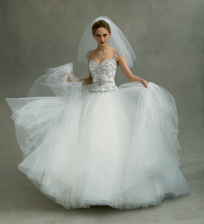 Preowned Wedding Gowns: Eve Of Milady 1484, $800 Size: 10