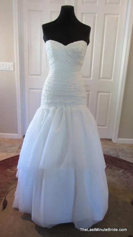 mikaella 1502 wedding dress currently for sale at 76 off retail