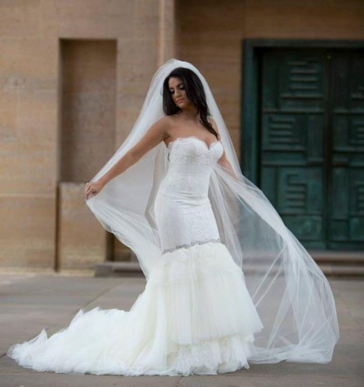 Ines di santo delia 2 000 size 6 used wedding dresses for Ines di santo wedding dresses prices