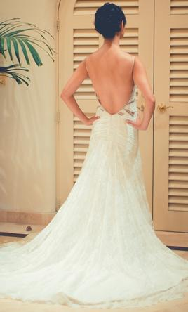 "Inspired Gowns Custom ""inbal dror"" inspired gown 4"