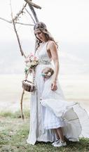 Nicole Miller Zoe wedding dress 6