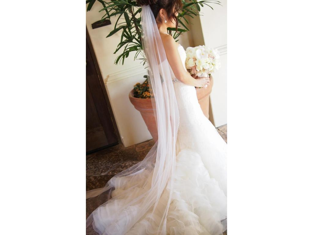 Vera wang leda 4 950 size 4 used wedding dresses for Vera wang wedding dress used