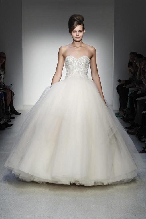 Kenneth Pool Olympia , $999 Size: 8 | Sample Wedding Dresses