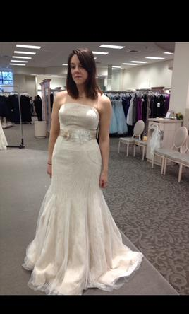 Zac posen truly 649 size 10 new un altered wedding for Zac posen wedding dresses sale