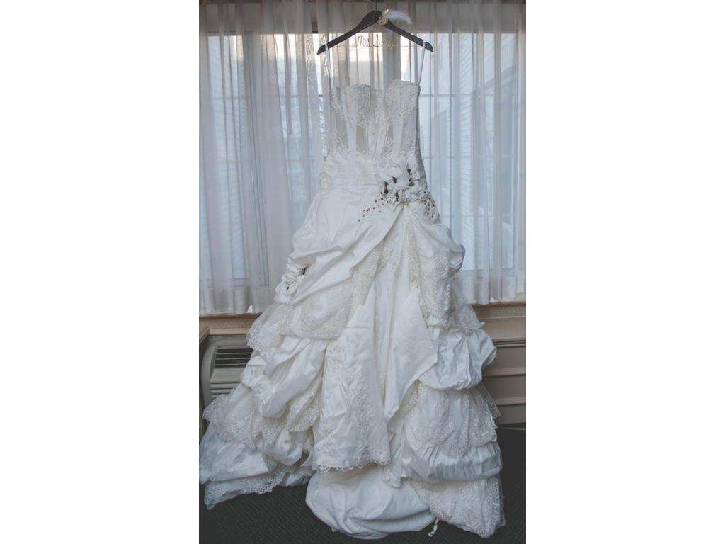 Inspired Gowns St. Pucci 501 , $950 Size: 12 | Used Wedding Dresses