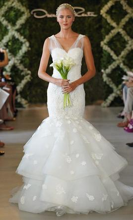 Oscar de la renta 3900 size 8 sample wedding dresses pin it oscar de la renta 8 junglespirit Gallery