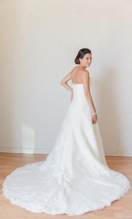 pronovias danesa for rent wedding dress currently for sale at 70