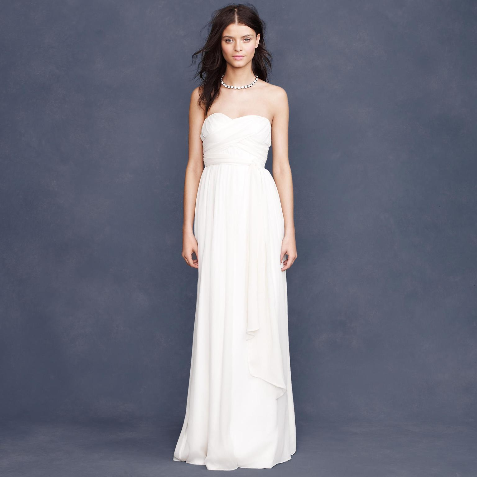 J Crew Taryn 195 Size 4 New Un Altered Wedding
