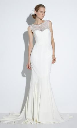 Nicole Miller Lily Bridal Gown 1 600 Size 4 Used