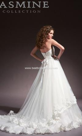 Jasmine haute couture 400 size 6 used wedding dresses for Haute couture sale