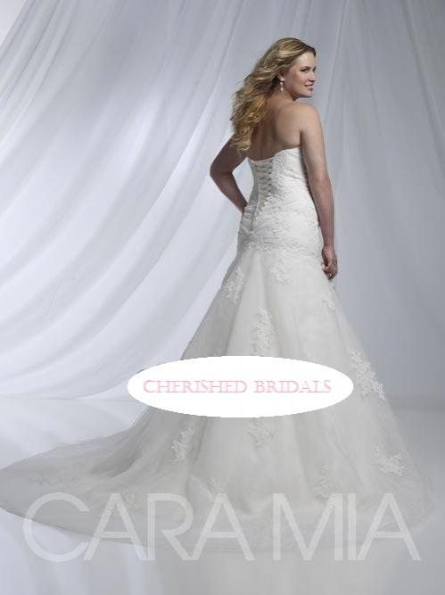 Other cara mia 29217 750 size 24w sample wedding dresses for Wedding dress consignment nj