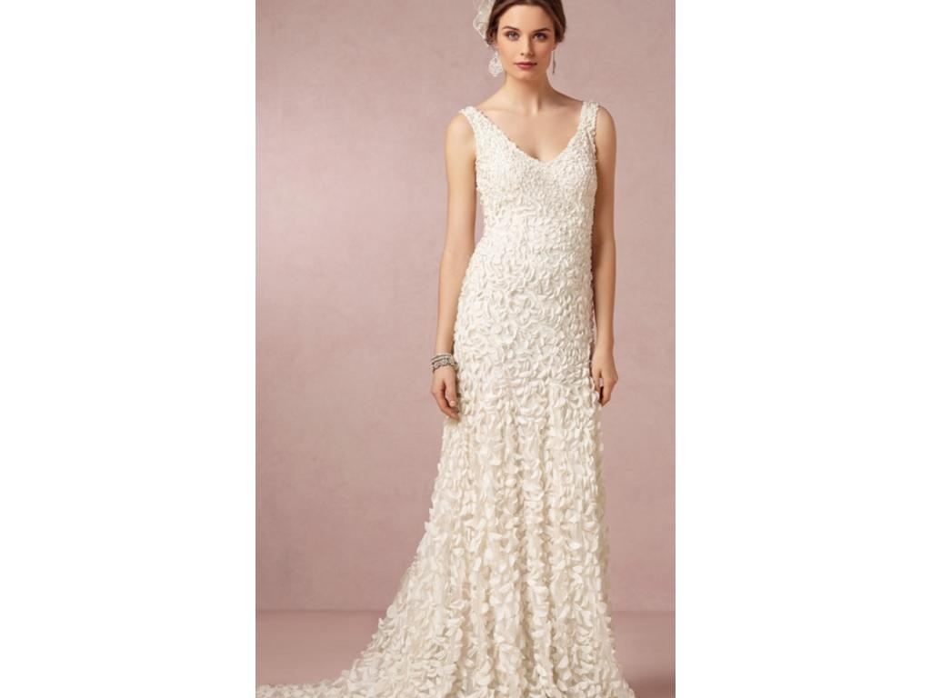 Bhldn emma gown 650 size 4 used wedding dresses for Bhldn used wedding dresses