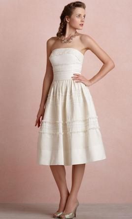 BHLDN Fondant Tea Dress 4