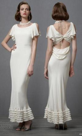 Bhldn Iced Confection 625 Size 8 Sample Wedding Dresses