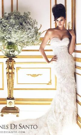 Ines di santo amour 4 500 size 4 used wedding dresses for Ines di santo wedding dress prices
