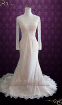 Inspired Gowns Berta Bride Style Lace Wedding Dress 2