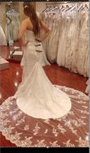 Maggie Sottero Emma Marie Extended train 2300 S 1070 14