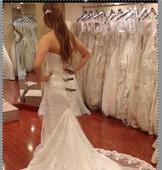 Maggie Sottero Emma Marie Extended train 2300 S 1070