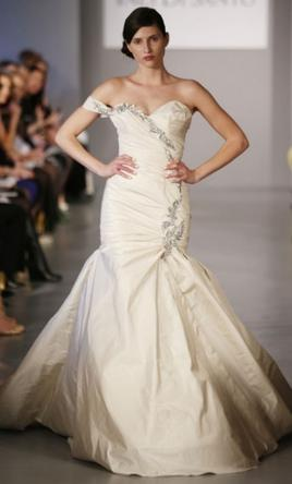 Ines di santo berenice 1 350 size 10 new un altered for Ines di santo wedding dresses prices
