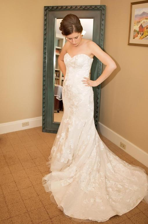 Casablanca 2142 500 size 8 used wedding dresses for Wedding dresses for 500 or less